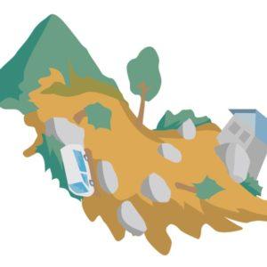 山が土砂崩れを起こす前兆、起きやすい場所と危険地域を知る