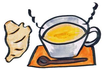 生姜湯は冷え性に効果ある?効果的な生姜の取り方。一日何杯飲める?