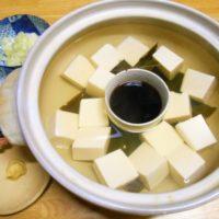 鍋に入れた豆腐が崩れる。崩れにくい方法や入れ方の順番は?